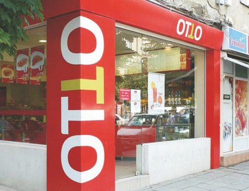 Цялостно брандиране обект ОТТО